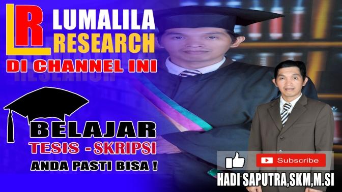 Mau Belajar Buat Sendiri Kunjungi Channel Yotube Saya LuMaLila Research